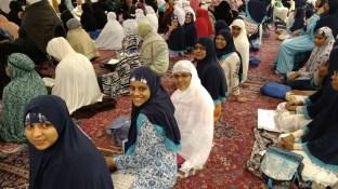 Inside Masjid-un-Nabawi, Madinah