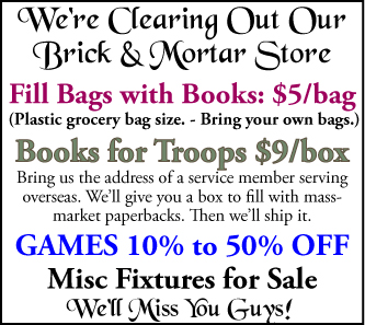 Bag & Box Sale - Clearing Out the Store