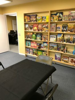 Here Be Books & Games Gate Room