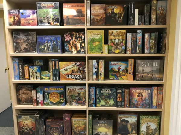 Interesting, hot and/or new games in stock. Changes all the time.
