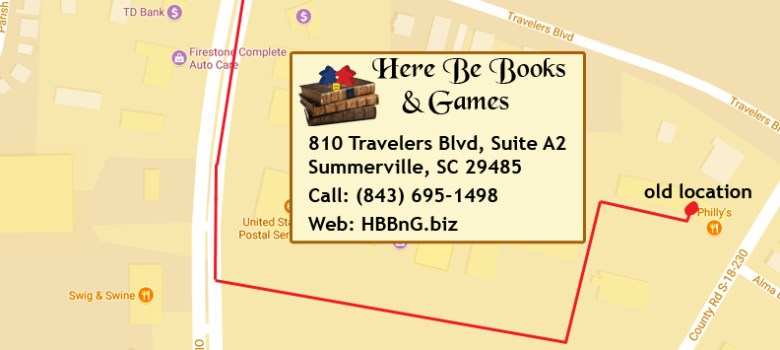 Map To Our New Location: 810 Travelers Blvd, Suite A2, Summerville, SC