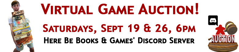 Virtual Game Auction September 2020