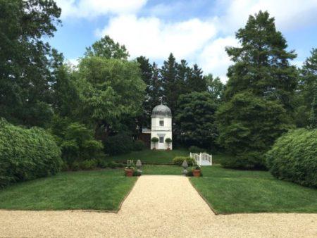 Genial Main View Into The William Paca Garden