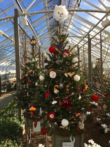 Children's Christmas tree display/A Longwood Christmas