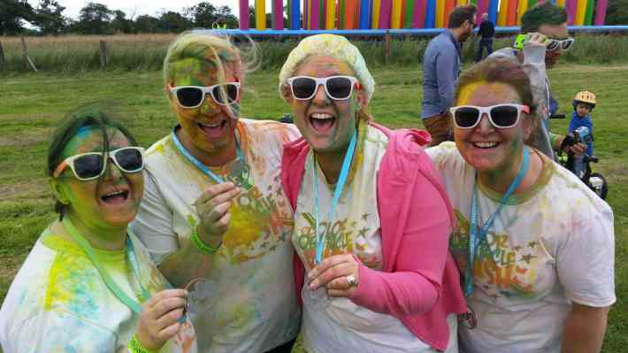 Colour Obstacle Rush Newcastle 2016