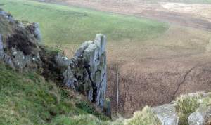 Hadrian's Wall Steep View