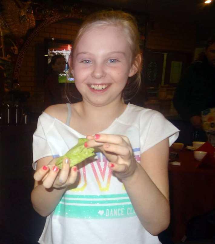 Imogen With Lettuce