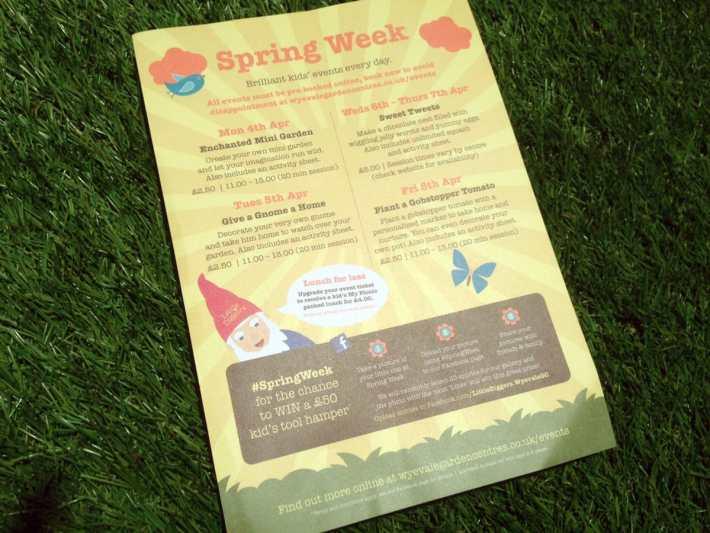Spring Week Little DIggers