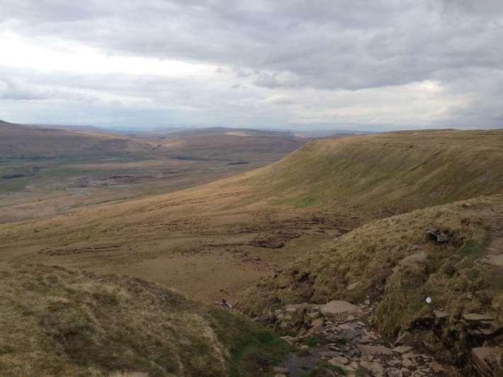 Yorkshire three peaks climbing