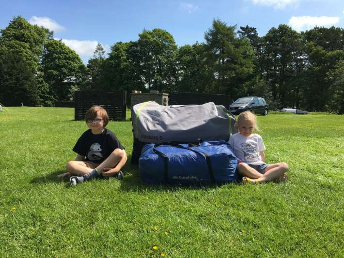 Comparing Tent SIze