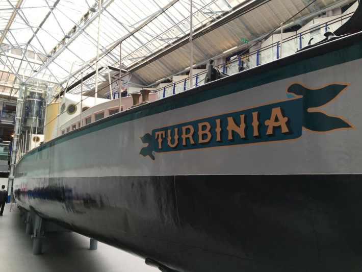 Discovery Museum Turbinia