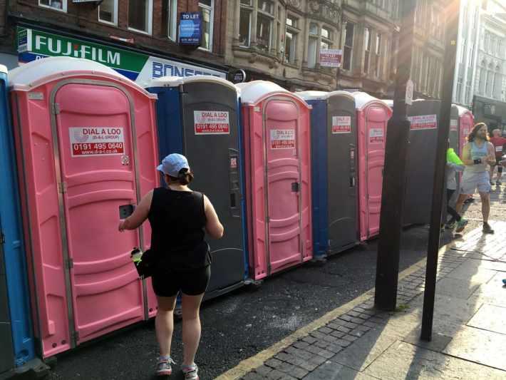 Blaydon Race Toilets