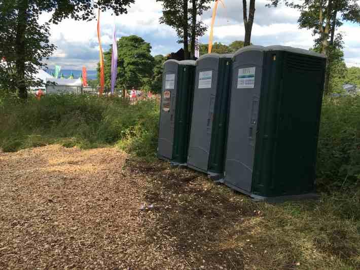 Festival Toilets