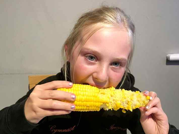Corn on teh Cob