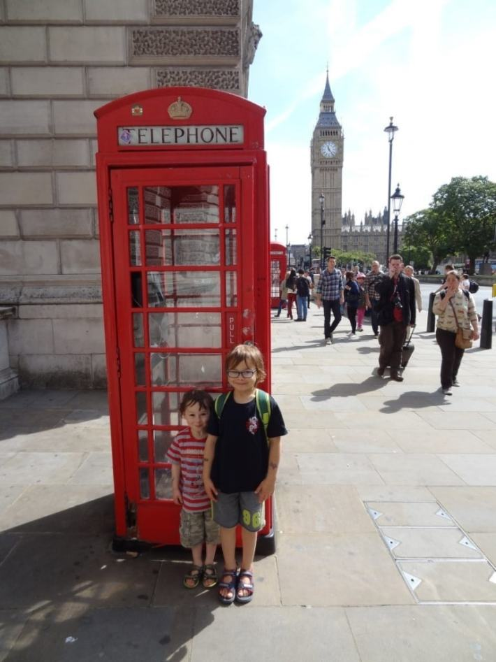 Kids in London
