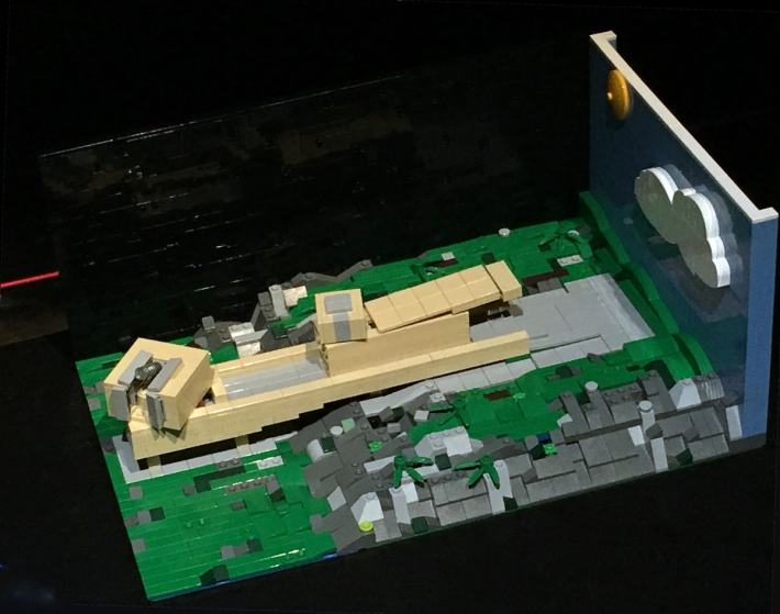 Lego Kielder Observatory