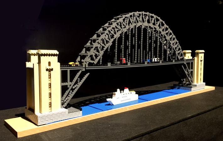 Lego Tyne Bridge