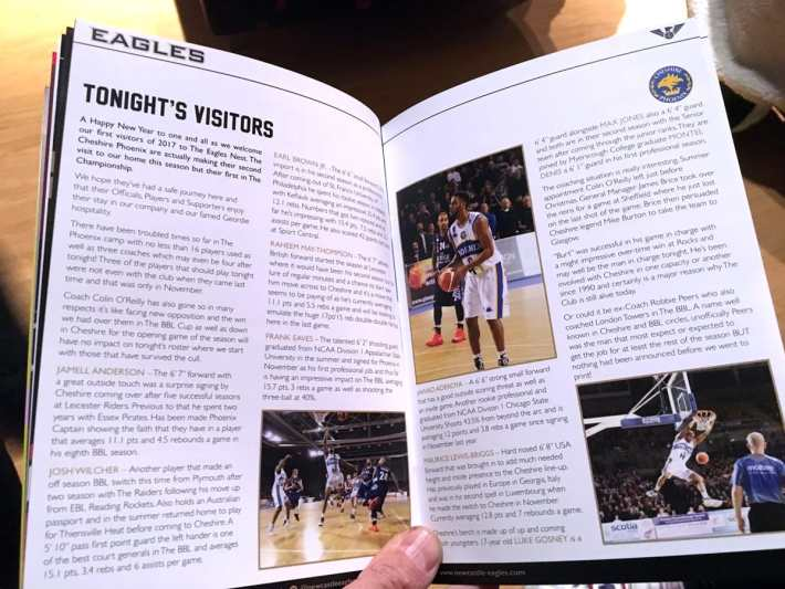 Newcastle Eagles Program