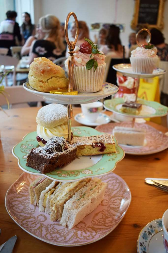 Great British Cupcakery Afternoon Tea