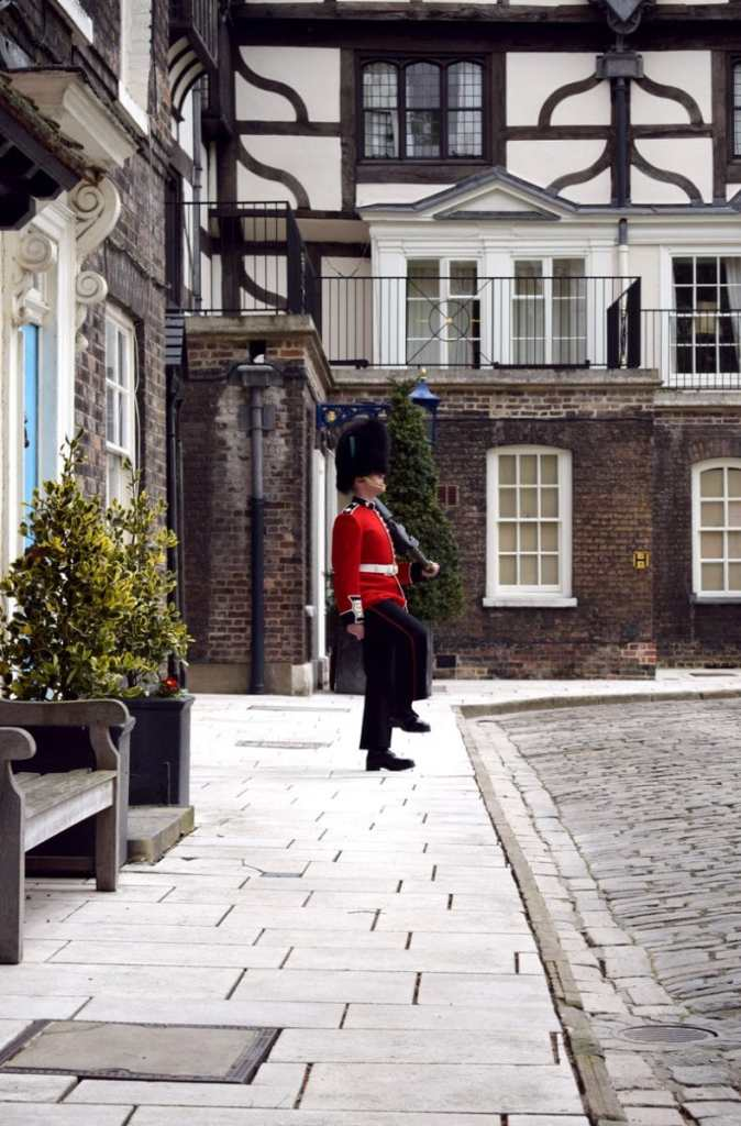 Guards at the Tower of London