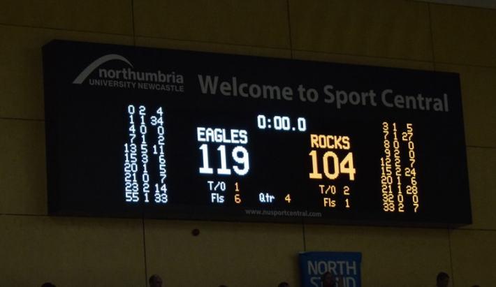 Newcastle Eagles Basketball 2017