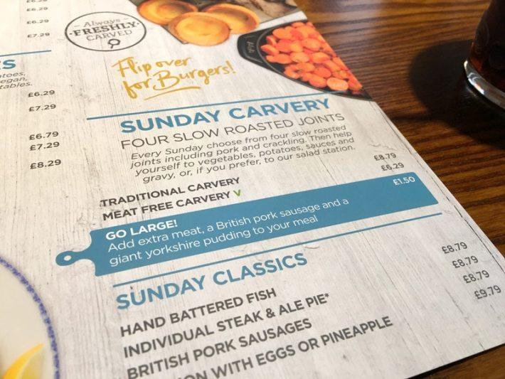 Sunday Lunch in Seaton Sluice