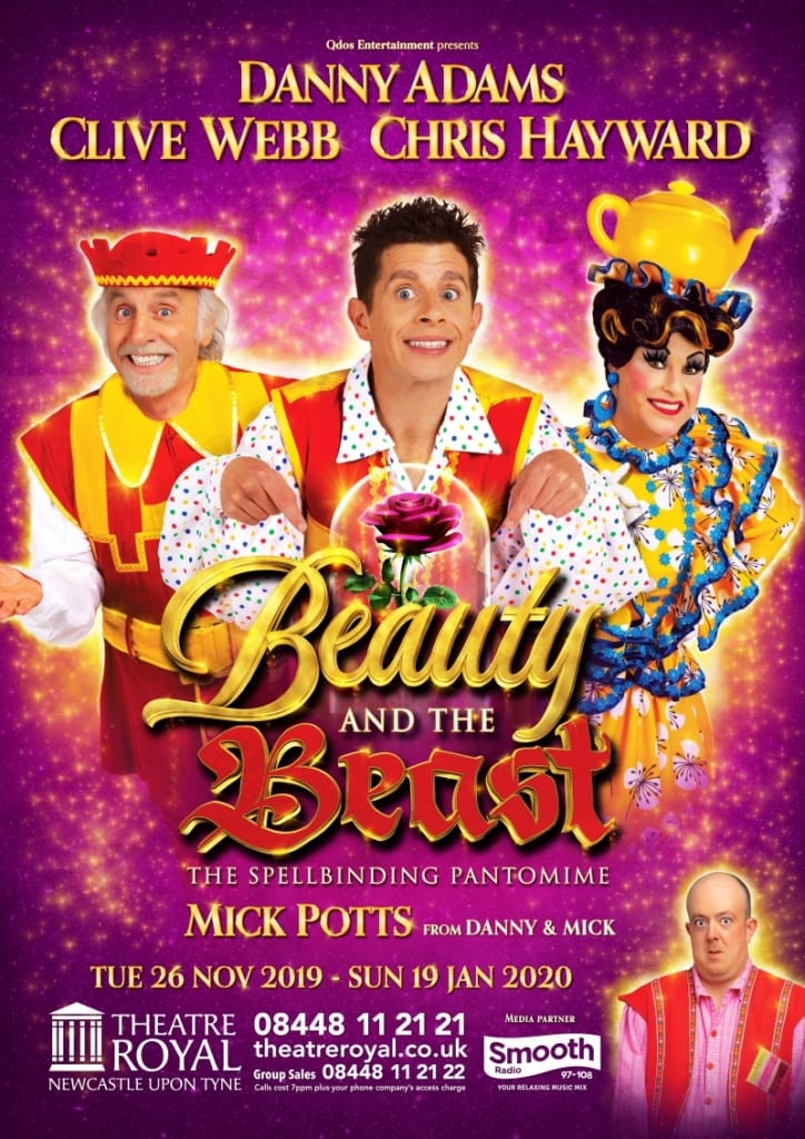 Beauty and the Beast Danny Adams and Clive Webb