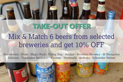 Take-out offer