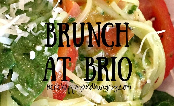 Brunch at Brio