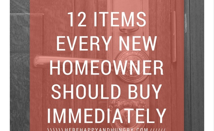 12 Items Every New Homeowner Should Buy Immediately
