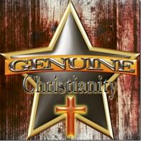 Genuine Christian Badge