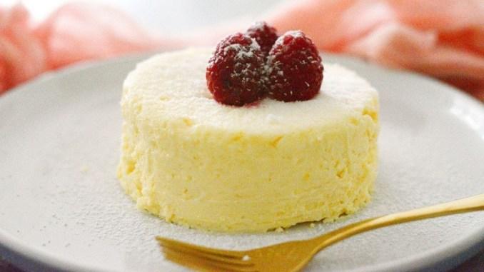 Keto Microwave Cheesecake