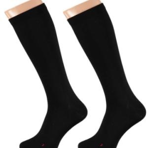 Apollo Heren Medische Compressie sokken Black 3-pack-43/46