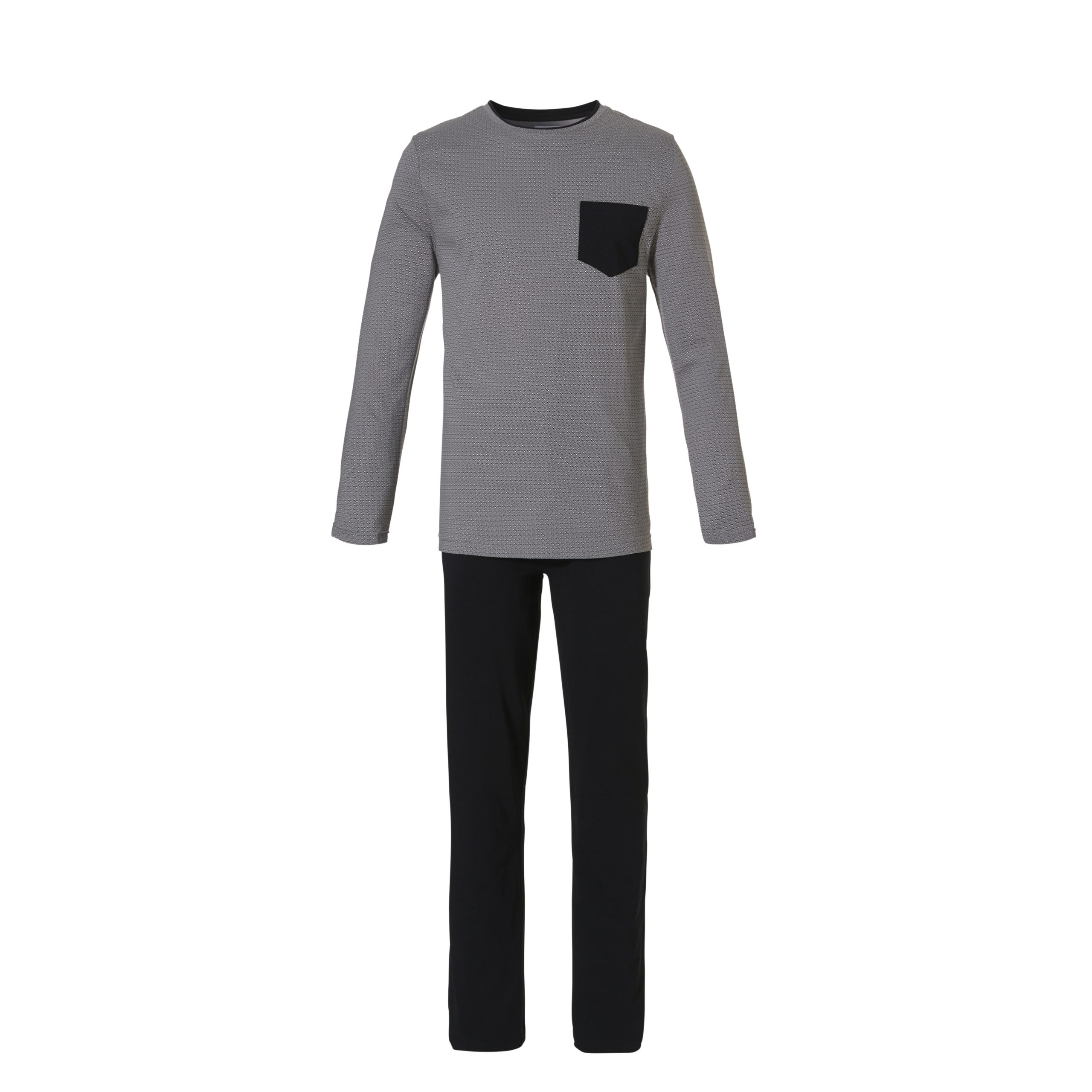 Ten Cate heren Pyjama Squares Black