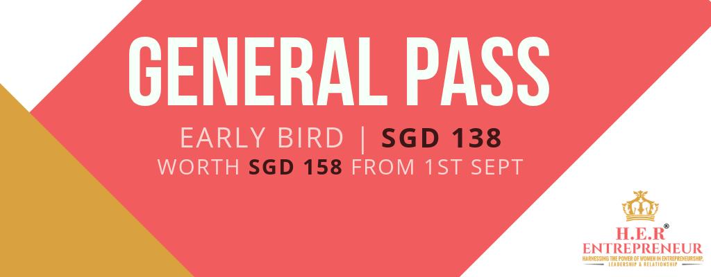 Early Bird General Pass Banner