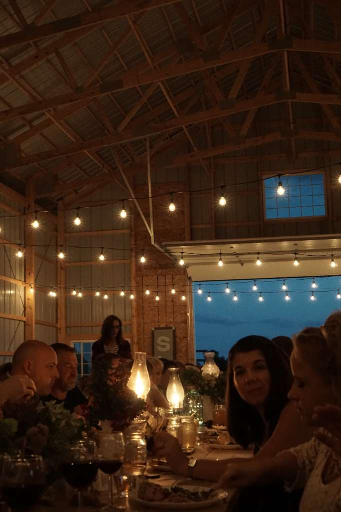 Slow Food Candelight Dinner