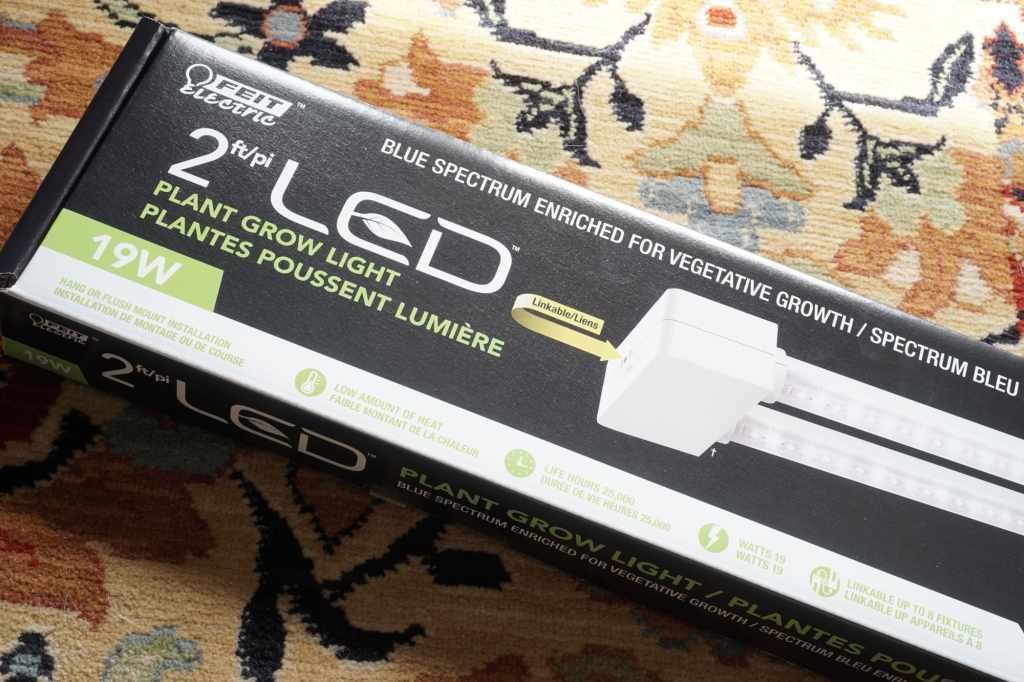 LED Grow lights for Seed Starting Rack