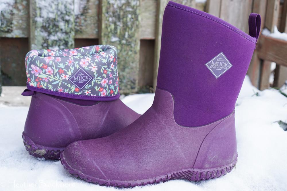 Purple Muck Boots
