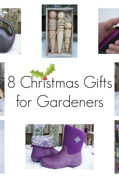 8 Christmas Gifts for Gardeners