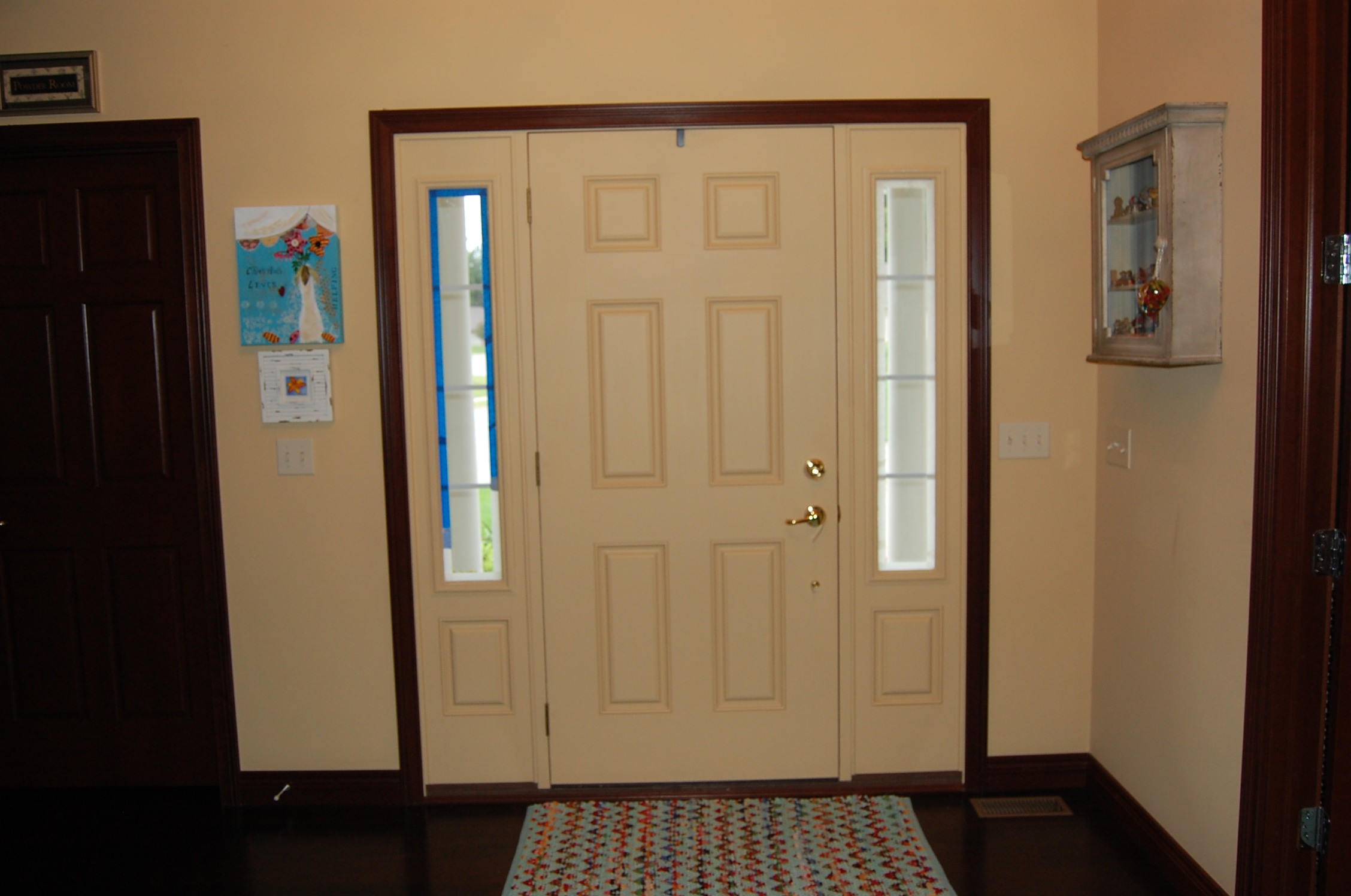 When we built our house five years ago I chose a Tuscan Tan I believe (it\u0027s a golden color) but tastes change and I am not ready to paint everything yet so ... & Front Door Color Change \u2013 here\u0027s my hart studio