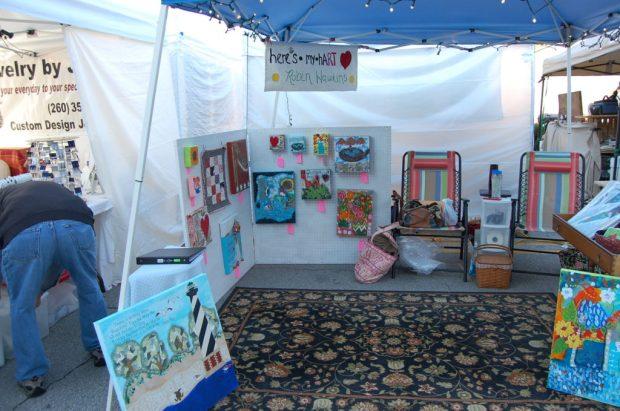 The Art Fair Heres My Hart Studio