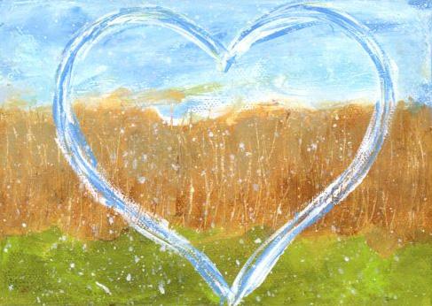 Field Heart - Original