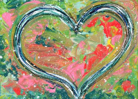 Garden Heart - original