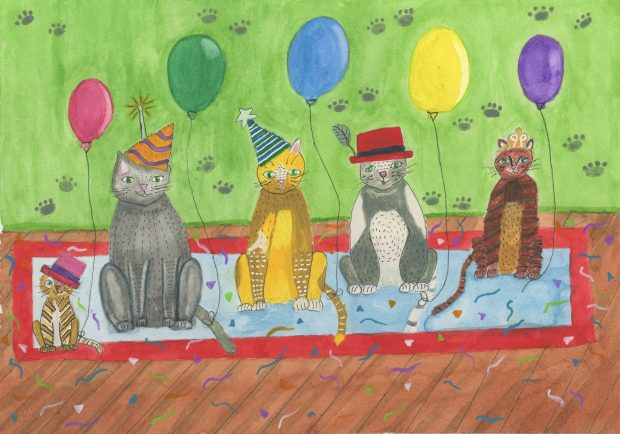 Let's Party reproduction art