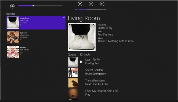 Sonos App on Windows 8