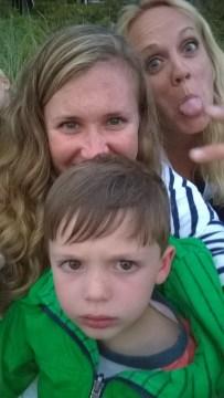 Silly & Grumpy Selfie