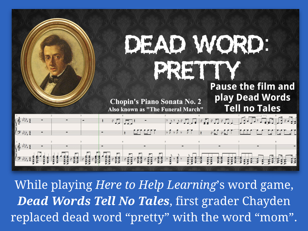Helping Your Child Recognize And Change Dead Wordshere To
