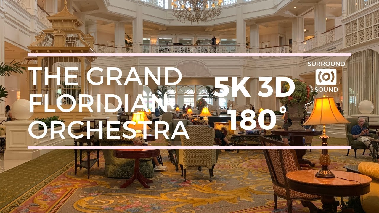 Grand Floridian Society Orchestra (5K 3D 180°)
