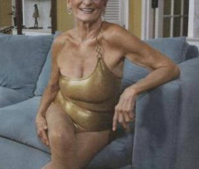 Old Lady Gaga Being A Courageous Outrageous Sexy Senior Here