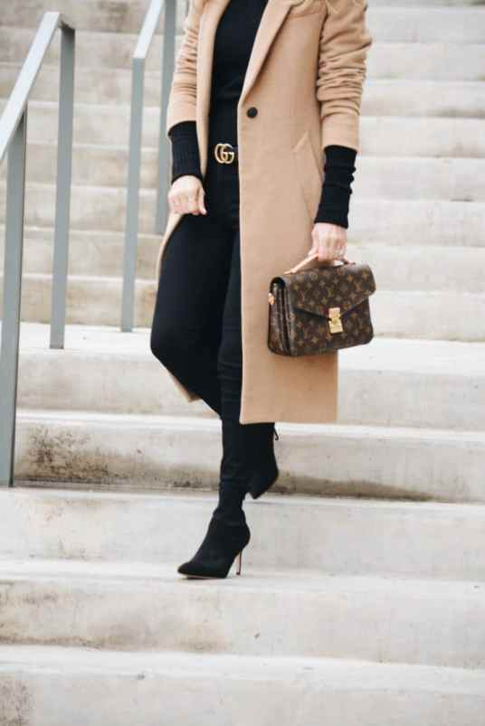 Camel rag and bone coat